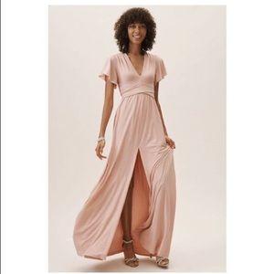 BHLDN Mendoza Bridesmaids Dress - Blush